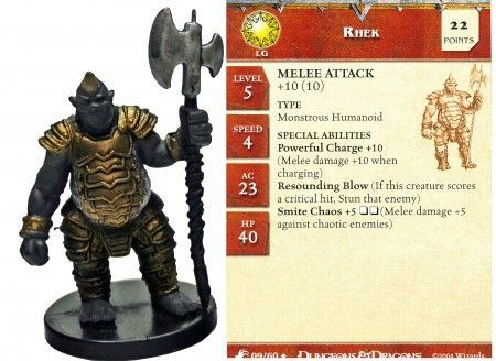 Rhek #09 Aberrations D&D Miniatures