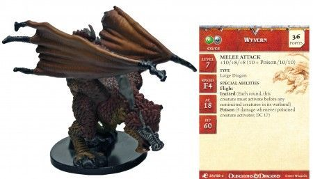 Wyvern #25 Aberrations D&D Miniatures