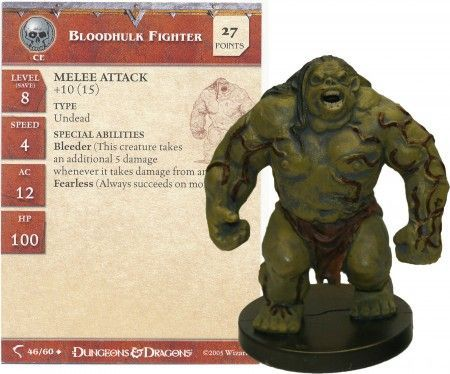 Bloodhulk Fighter #46 Deathknell D&D Miniatures