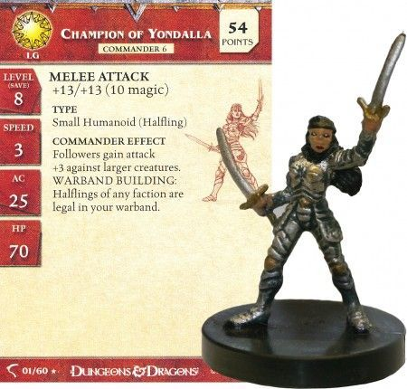 Champion of Yondalla #01 Deathknell D&D Miniatures