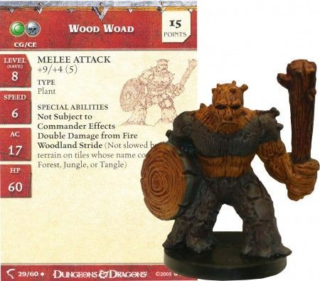 Wood Woad #29 Deathknell D&D Miniatures