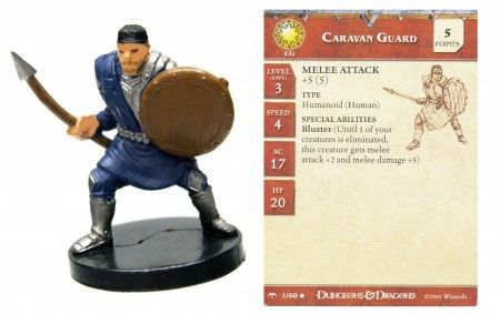Caravan Guard #01 Angelfire D&D Miniatures