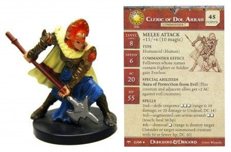 Cleric of Dol Arrah #02 Angelfire D&D Miniatures