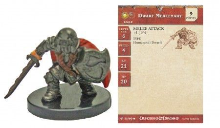 Dwarf Mercenary #31 Angelfire D&D Miniatures