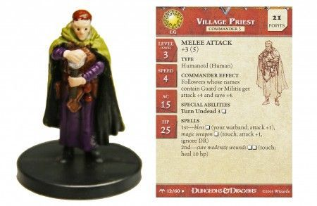 Village Priest #12 Angelfire D&D Miniatures