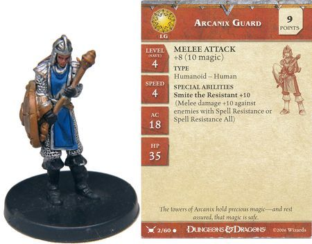 Arcanix Guard #02 War Drums D&D Miniatures
