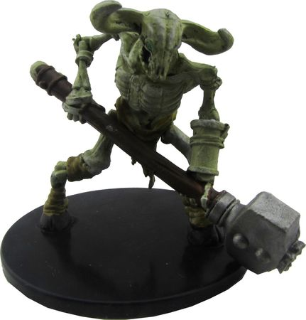 Minotaur Skeleton #32b/44 D&D Icons of the Realms: Waterdeep Dungeon of the Mad Mage