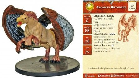 Arcadian Hippogriff #01 Blood War D&D Miniatures
