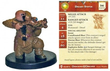 D & D Minis: Iron Defender # 36 - Dungeons of Dread