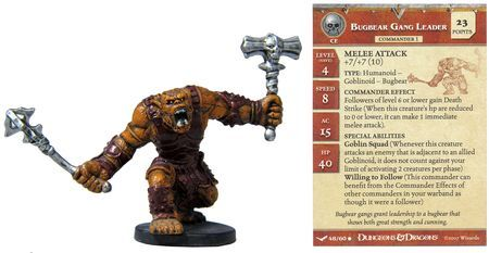 Bugbear Gang Leader #48 Unhallowed D&D Miniatures