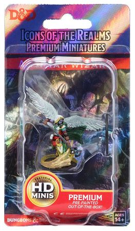 D&D Icons of the Realms Premium Painted Figure: Aasimar Female Wizard
