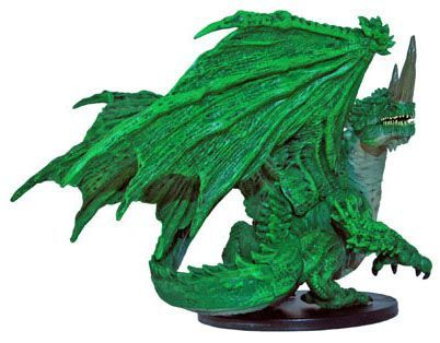 Large Green Dragon #42 City of Lost Omens Pathfinder Battles