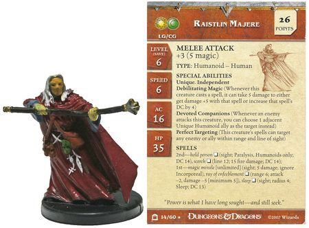 Raistlin Majere #14 Night Below D&D Miniatures