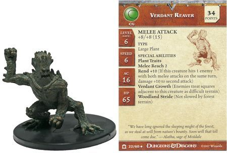 Verdant Reaver #22 Night Below D&D Miniatures
