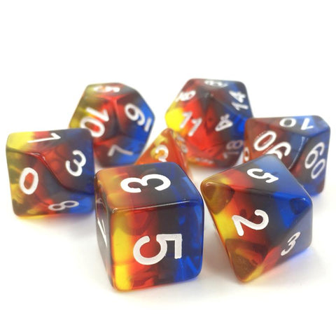 Burning Cloud Dice Set