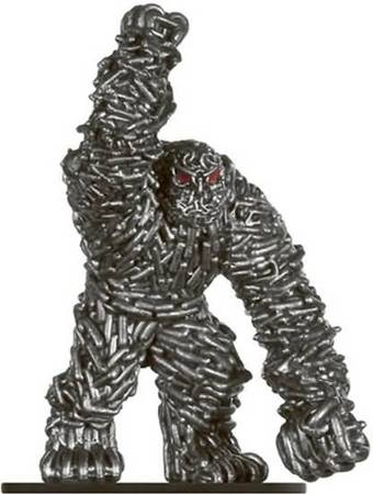 Chain Golem #42 Against the Giants D&D Miniatures