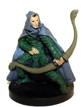 Carn, Human Rogue - D&D Basic Game Miniature