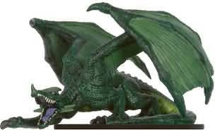 Elder Green Dragon #15 Legendary Evils D&D Miniatures
