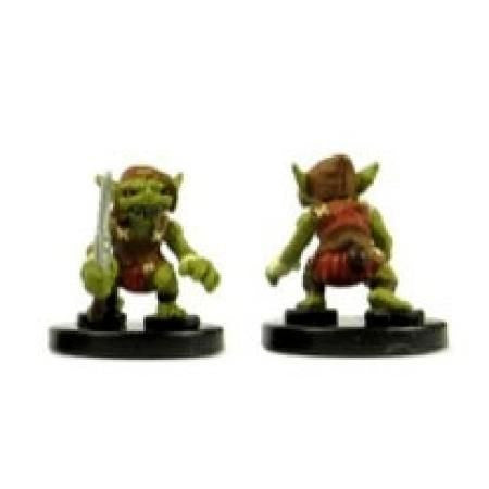 Goblin Warrior (Red) #01 Heroes & Monsters Singles Pathfinder Battles