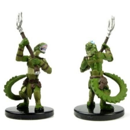 Lizardfolk Champion #10 Heroes & Monsters Singles Pathfinder Battles