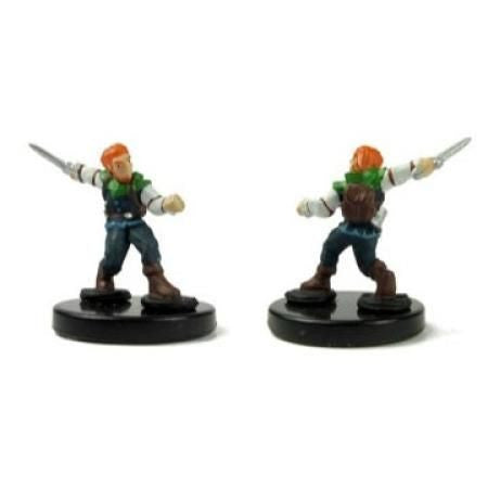 Gnome Fighter #22 Heroes & Monsters Singles Pathfinder Battles