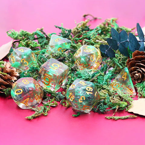 Mystical Galaxy Dice Set