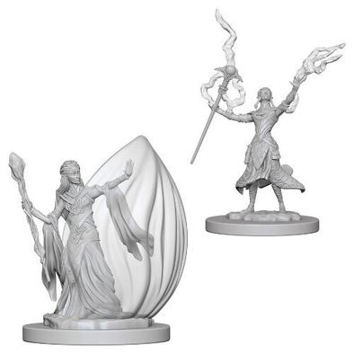 Dungeons & Dragons: Nolzur's Marvelous Unpainted Miniatures: Elf Female Wizard