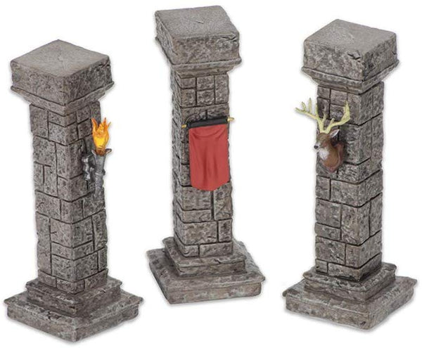 WizKids Miniatures: Fantasy Terrain - Painted Pools & Pillars