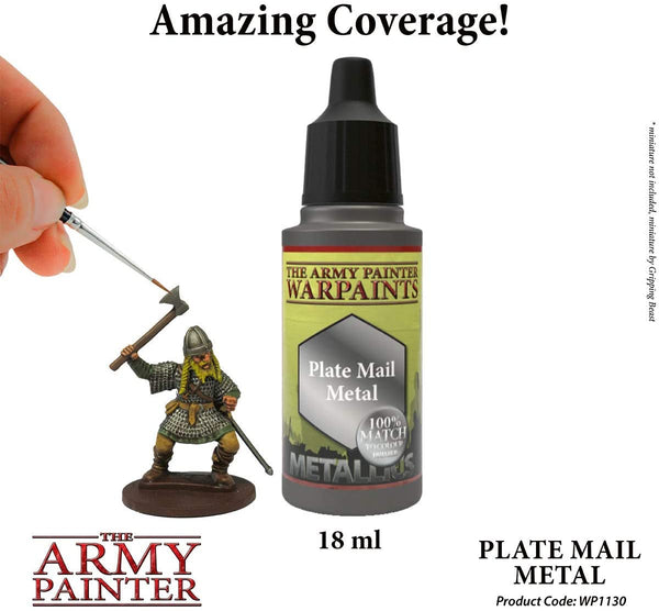 Warpaints: Plate Mail Metal 18ml