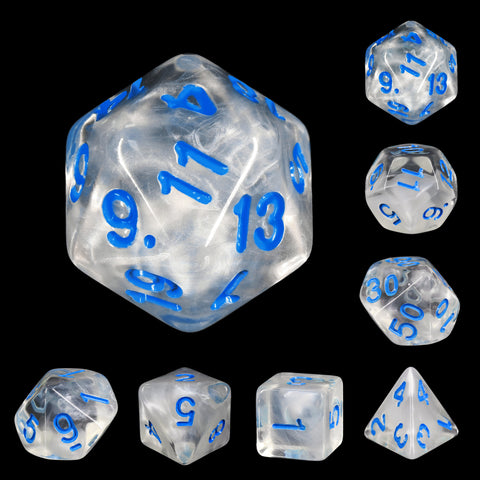 Winter Waltz Dice Set