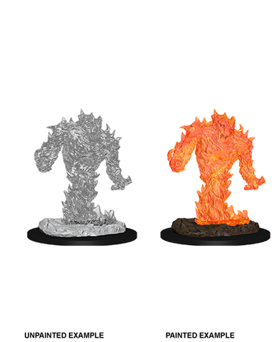 Dungeons & Dragons: Nolzur's Marvelous Unpainted Miniatures: Fire Elemental