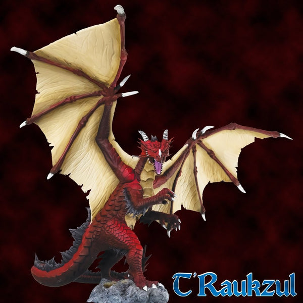 Dark Heaven Bones: T'Raukzul - Heroic Scale Dragon Boxed Set