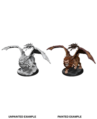Dungeons & Dragons: Nolzur's Marvelous Unpainted Miniatures: Manticore