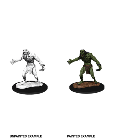 Dungeons & Dragons: Nolzur's Marvelous Unpainted Miniatures: Raging Troll