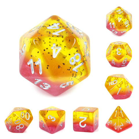 Passion Fruit Dice Set