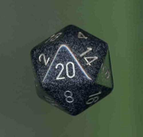 Single 34mm D20 - Speckled Ninja