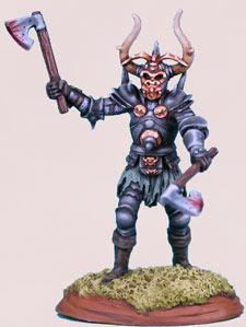 Elmore Masterworks: Male Evil Knight w/Axes