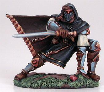 Visions In Fantasy: Crouching Male Assassin