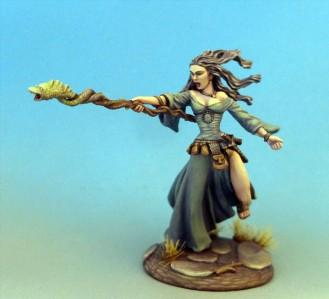 Visions In Fantasy: Female Mage with Staff