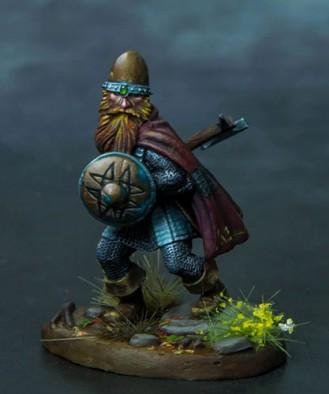 Visions In Fantasy: Dwarf Warrior w/Axe