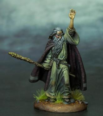 Visions In Fantasy: Ancient Wizard w/Staff
