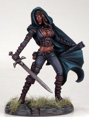 Visions In Fantasy: Female Assassin (1)