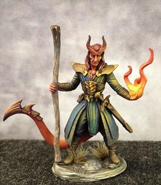 Visions In Fantasy: Demonkin Fighter/Mage