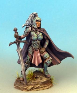 Visions In Fantasy: Female Warrior with Two Handed Sword
