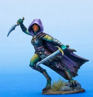 Visions In Fantasy: Female Dragonkin Rogue - Dual Wield