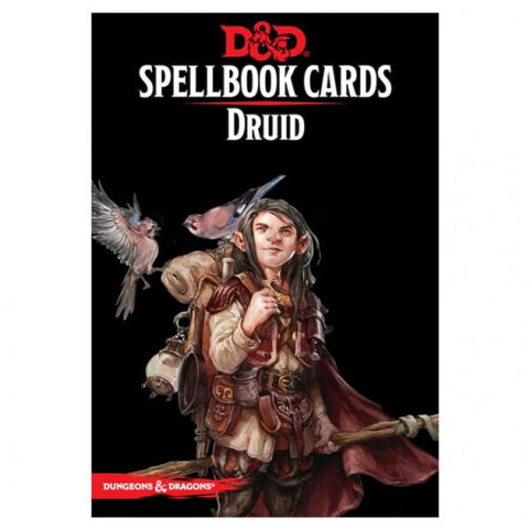 Dungeons & Dragons 5th Edition RPG: Druid Spellbook Deck (131 Cards)