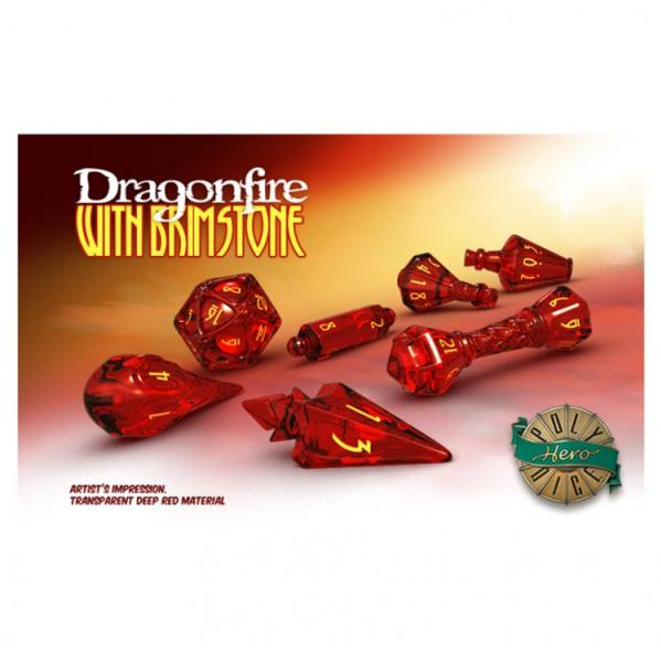 Wizard Dice: Dragonfire with Brimstone