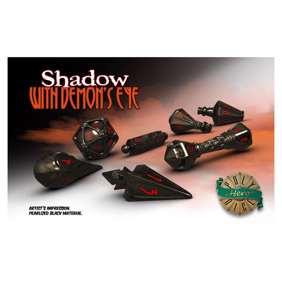 Wizard Dice: Shadow with Demon's Eye