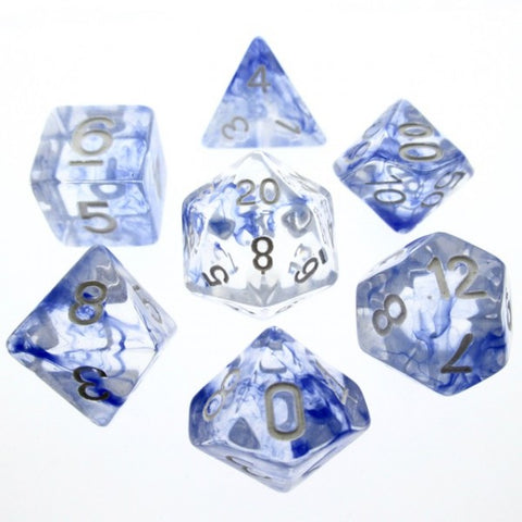 Blue Nebula Dice Set