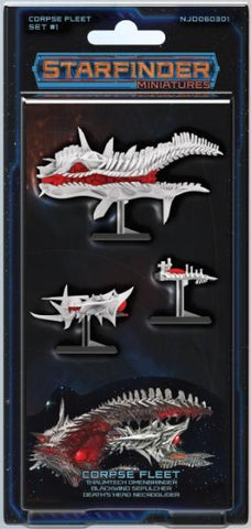 Starfinder Miniatures: Corpse Fleet Set 1